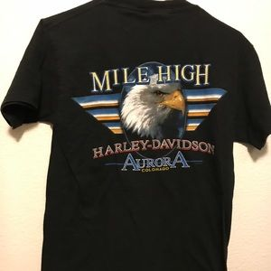 Harley Davidson Colorado VTG Shirt Men's Small